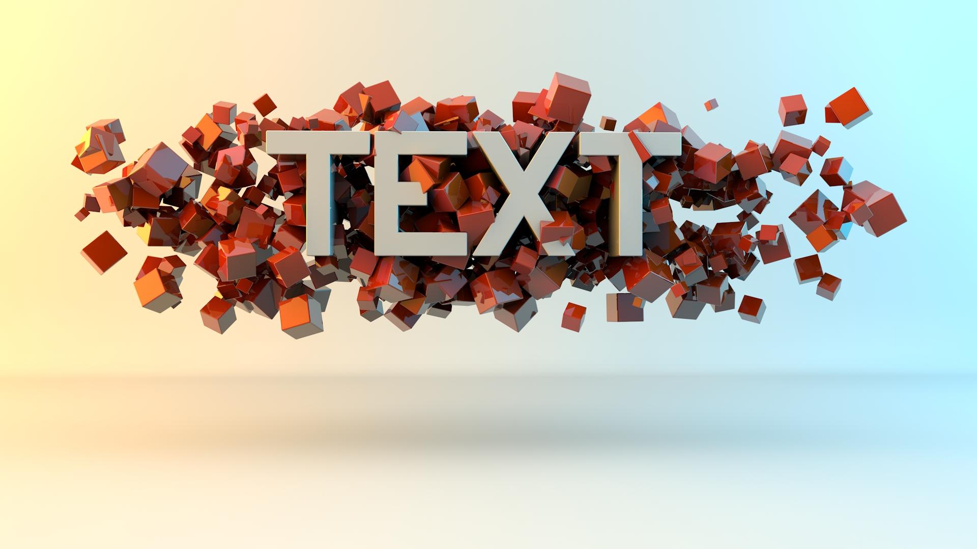 Text Tutorial C4d - Bing images